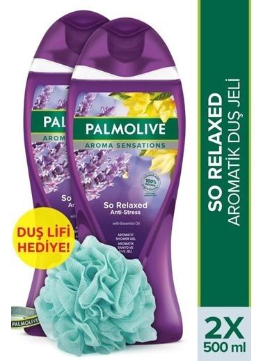 Palmolive Palmolive Aroma Sensations So Relaxed Aromatik 2'li Duş Jeli 500 ml ve Duş Lifi Hediye Renksiz